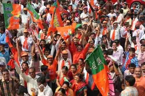 BJP wins 74 of 81 municipalities