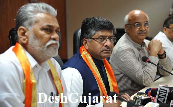 Ravi Shankar Prasad to address media in Gujarat on Modi 2.0 govt.'s 100 days