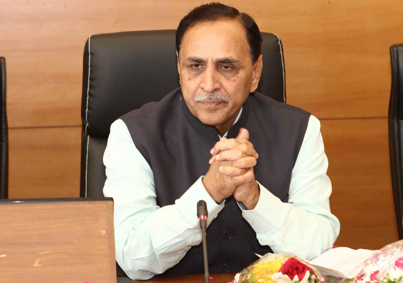 Rupani declares closure of alert for Cyclone Vayu in Gujarat