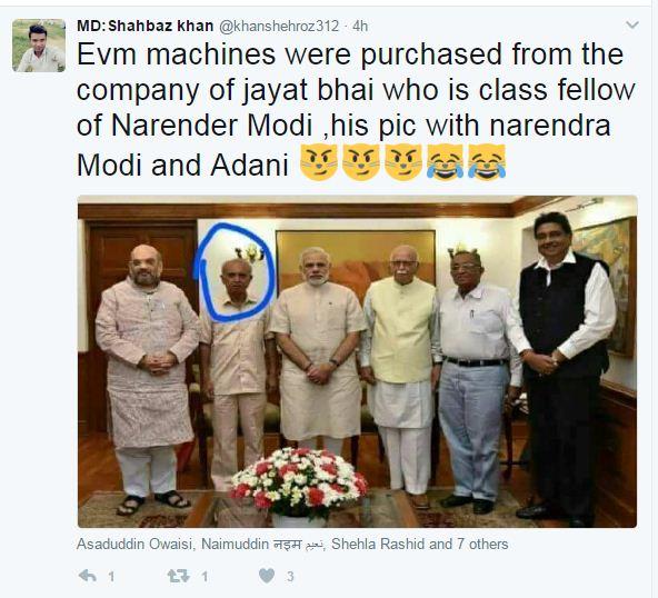Lies on social media: When retired Professor Jivanbhai Parmar becomes EVM maker Jayantibhai!
