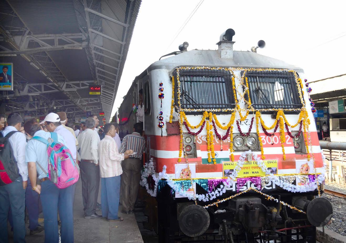 Sabarmati Ashram Foundation Centenary:Gandhi Darshan Ashtha Special train to run from Sabarmati to Champaran