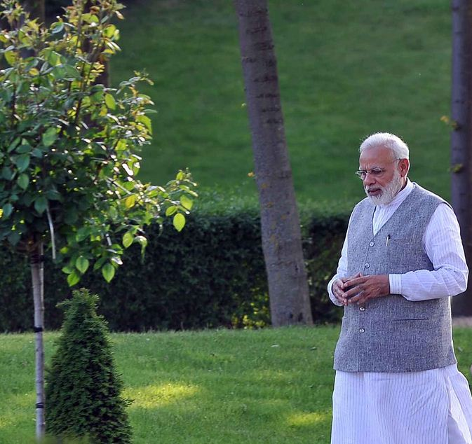 PM Narendra Modi to be on 'whirl-wind' trip of home-state Gujarat tomorrow