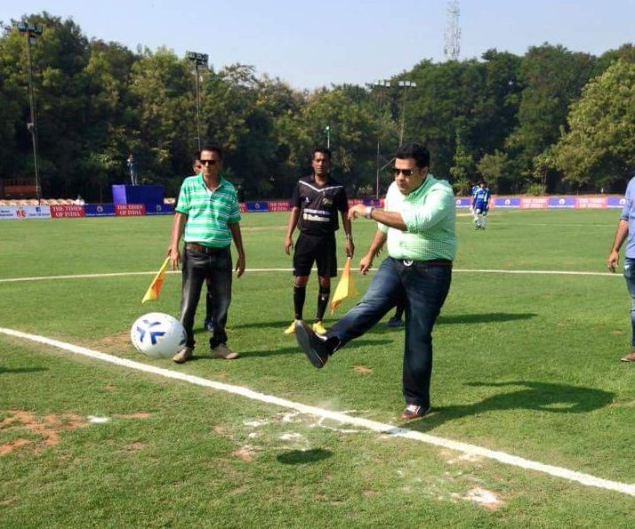 Dhanraj Nathwani elected President of Gujarat State Football Association (GSFA)