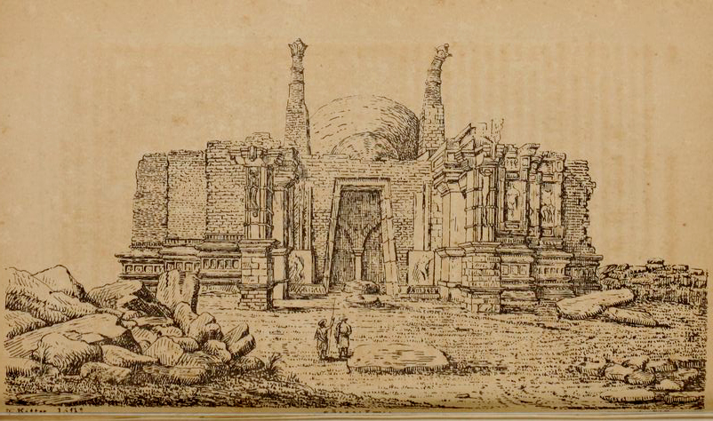 #SomnathSeries : Ruined and ravaged Somnath temple as described by visitors in 19th and 20th centuries