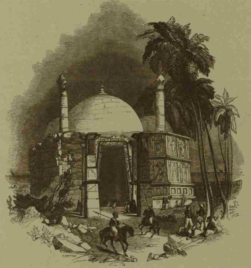 SomnathTempleMarch18-1843-The-Illustrated-London-News