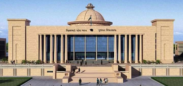 By-election for two Rajya Sabha seats in Gujarat tomorrow